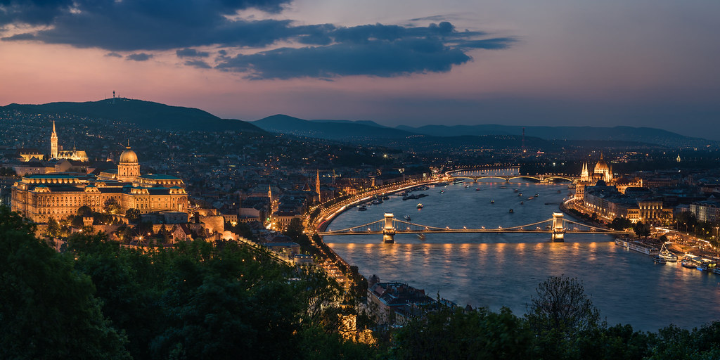 Budapest Skyline The Famous Skyline Of Budapest With