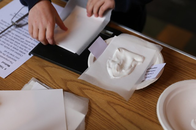 Meringues activity from chapter 9 of Messy Church Does Science