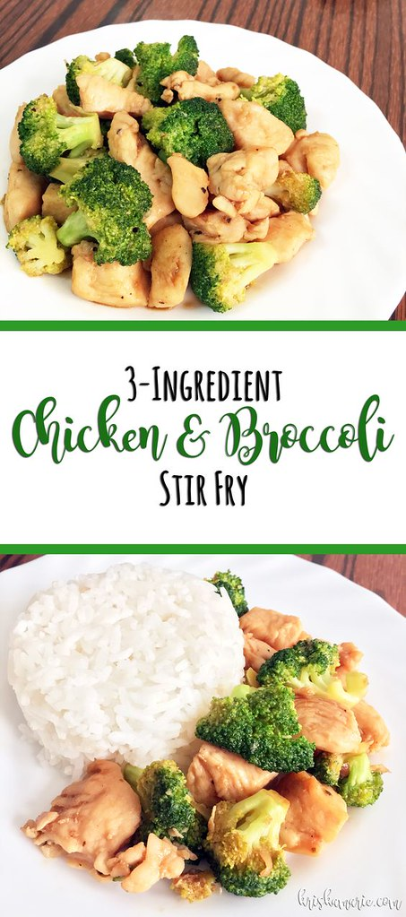 3-Ingredient Chicken and Broccoli Stiry Fry