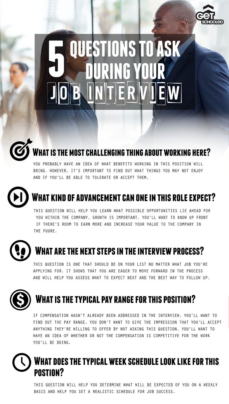 5 questions to ask during your job interview