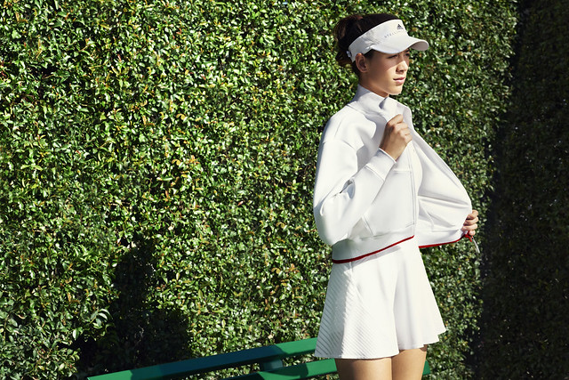 Garbine Muguruza Wimbledon 2017 outfit