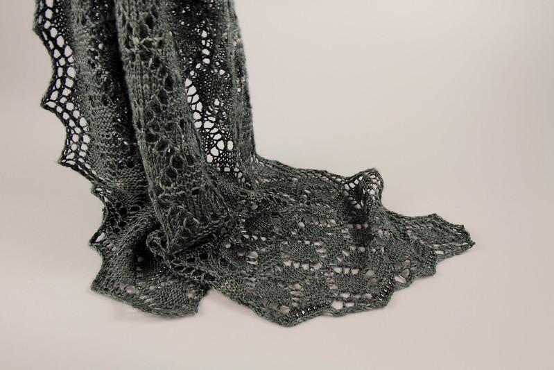 Crystalline Shawl by Suzie Blackman