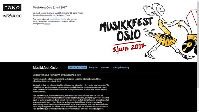 heter nå musikkfest oslo