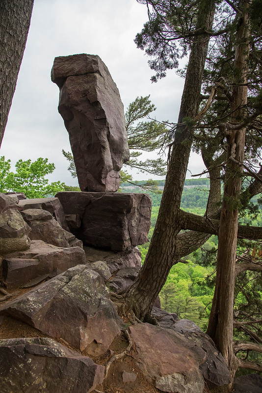 A View of Balanced Rock
