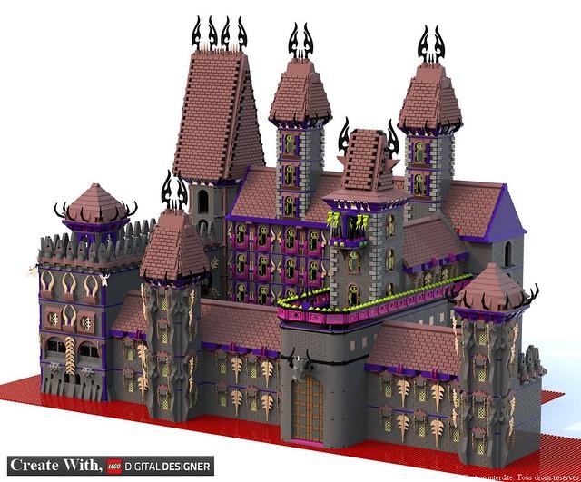 [MOC][LDD]Chateau de Ragana 34519360583_bdcca11806_z