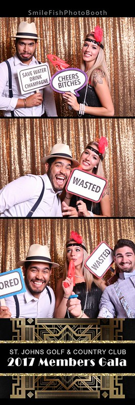 St. Johns Country Club Wedding Photo Booth