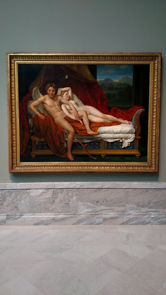 psyche Jacques cupid and louis david