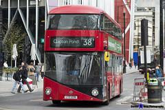 Wrightbus NRM NBFL - LTZ 1226 - LT226 - Clapton Pond 38 - Arriva - London 2017 - Steven Gray - IMG_9488