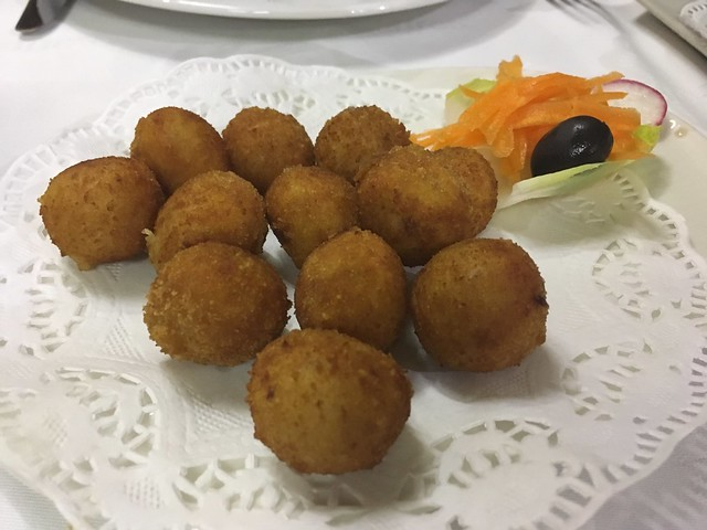Ham and chicken croquettes - Saffron
