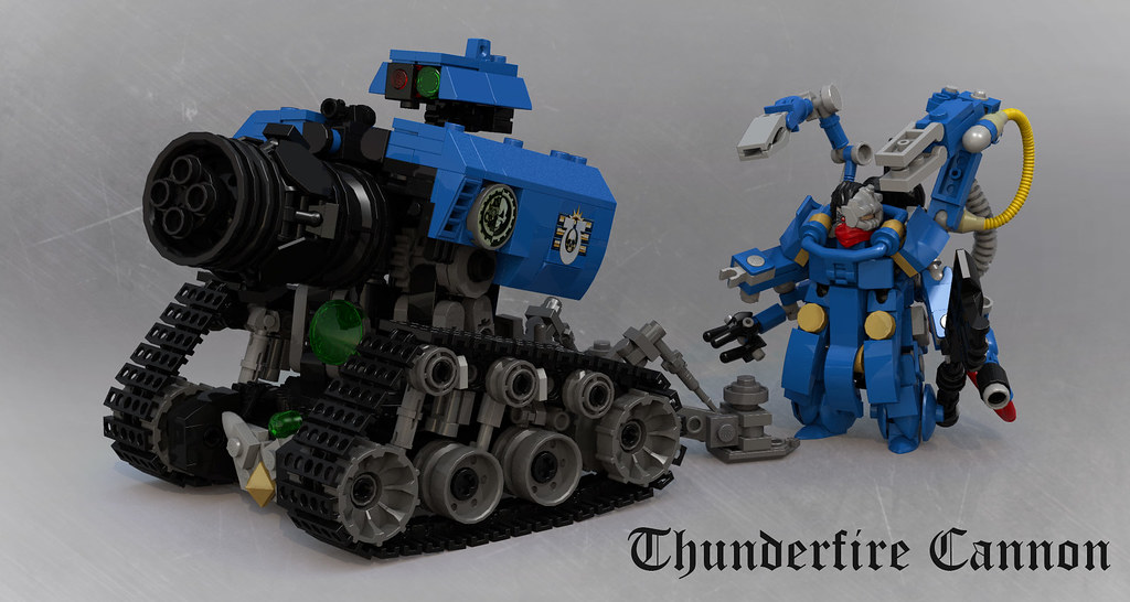Thunderfire Cannon with Techmarine