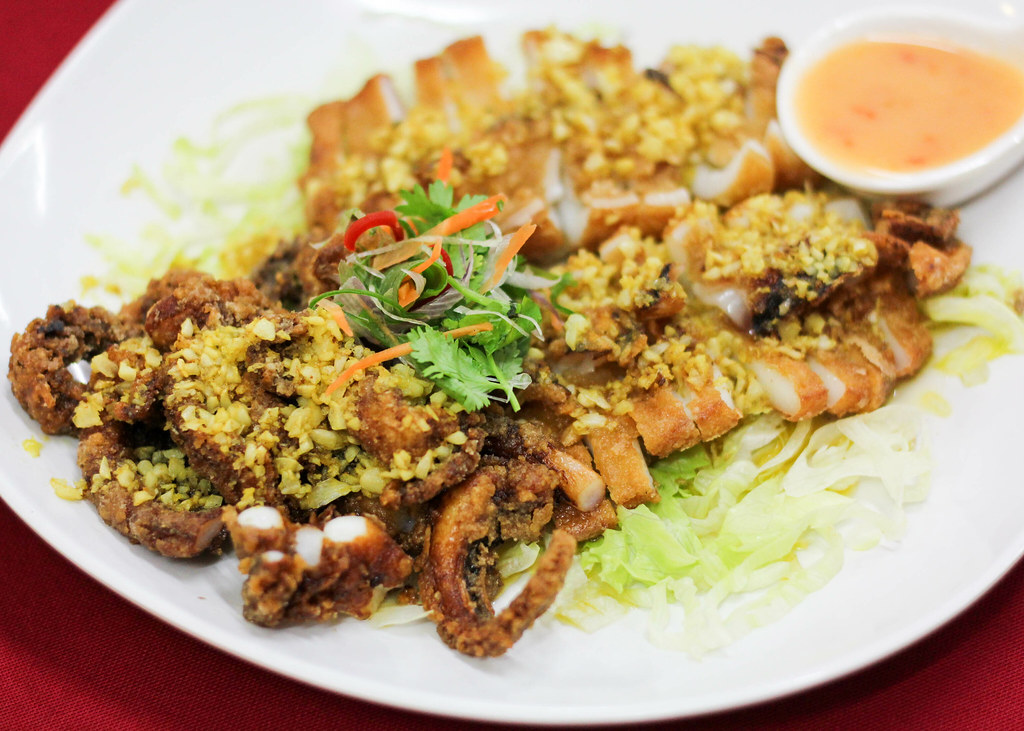 Restoran Tong Sheng: Fried Squid With Garlic