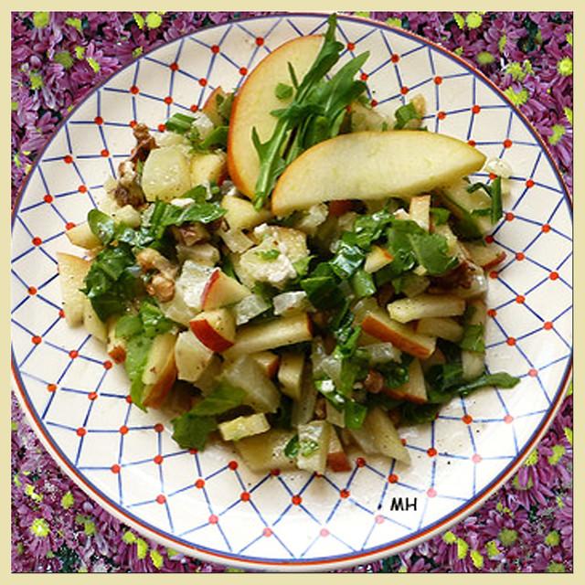 Nicht nur Hessen, Odenwälder und Pfälzer: Margits Handkäs-Salat