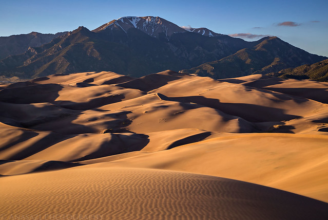 Great Sand Dunes Evening