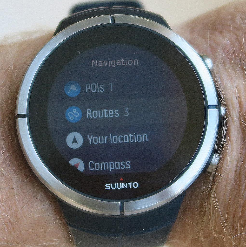 Η οθόνη επιλογών του Navigation