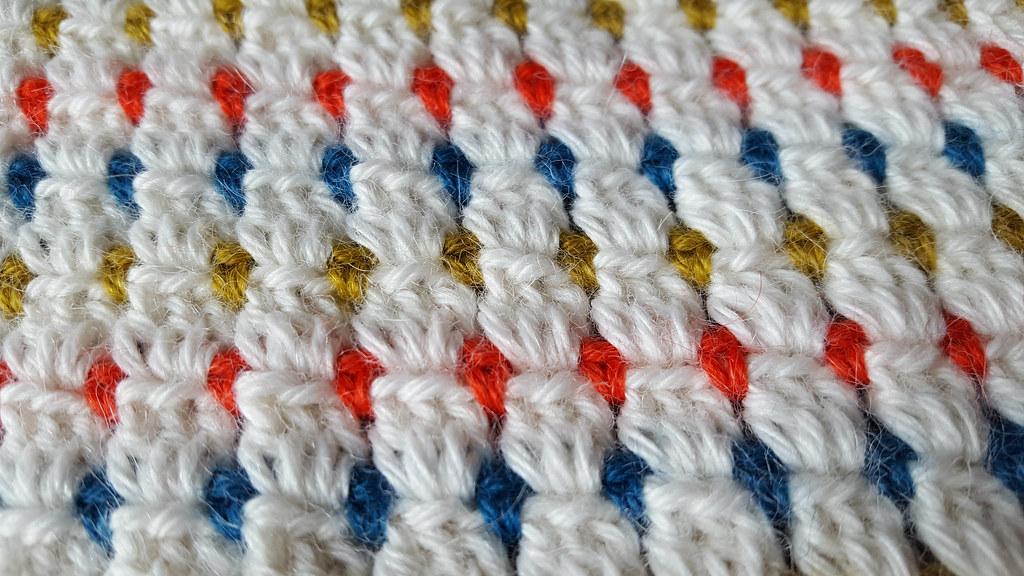 Preciousowl Wip Crochet Block Stitch Baby Afghan