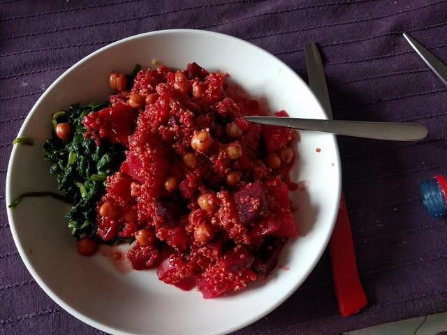 quinoa, vegetarisch, weekmenu