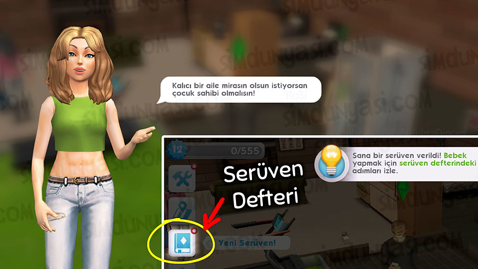 The Sims Mobile 12. Level - Yeni Serüven: Çocuk Sahibi Olmak