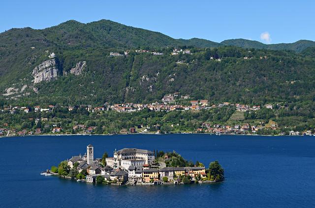 Orta San Giulio, Lake Orta, Italy