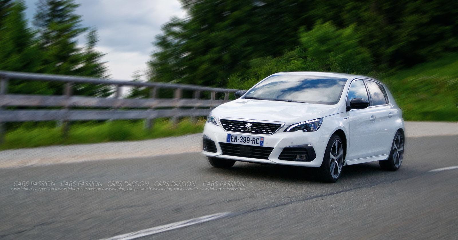 Essai nouvelle Peugeot 308 Gt line