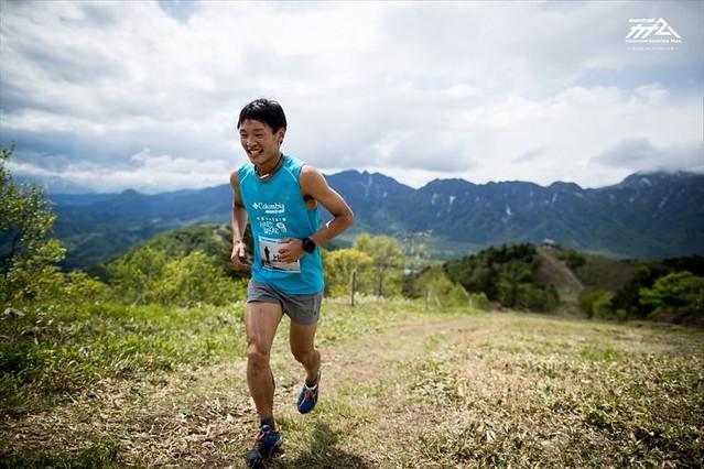 O Ruy Ueda στον δρόμο για την νίκη του στο Korea 50K 2017!