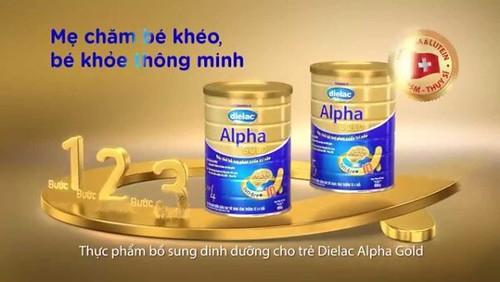 Sữa Dielac Grow Plus 1+ giàu chất dinh dưỡng dành cho trẻ còi xương, biếng ăn