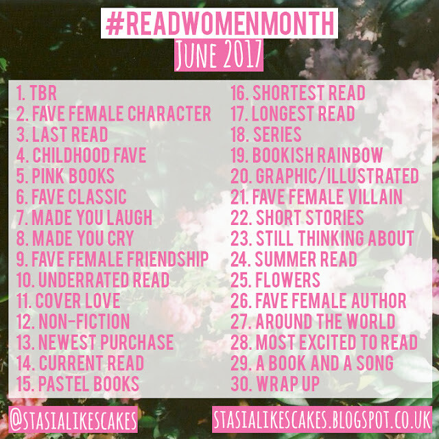 Read Women Month Instagram Challenge