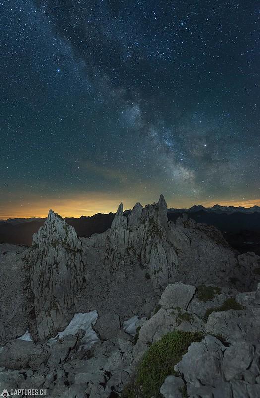 Monoliths under the stars - Schrattenflue