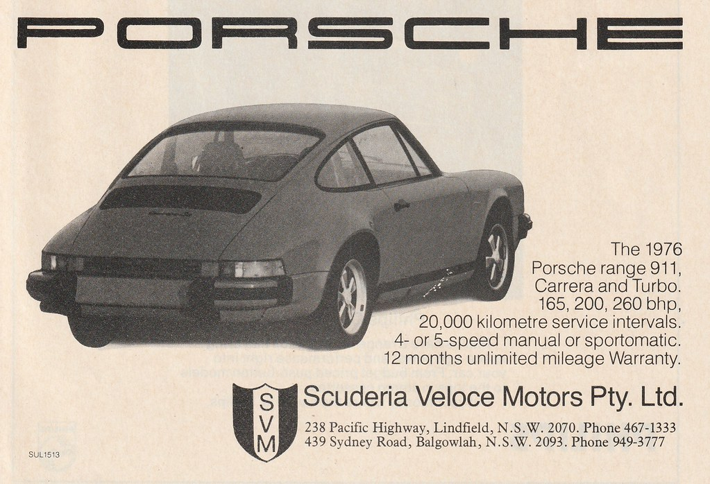 1976 porsche 911 ad australia covers the 1976 porsche 91 flickr rh flickr com Verizon Cell Phone Manual orange sydney phone manual