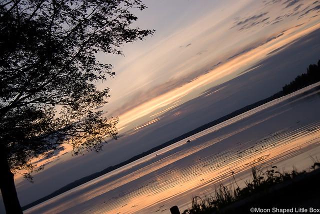 Auringonlasku Pieksämäellä Bloggaajien Ilta