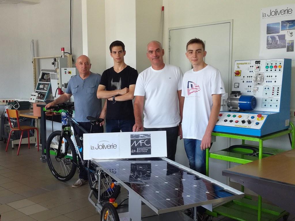 Vélo électrique / Solar Cup - 2017