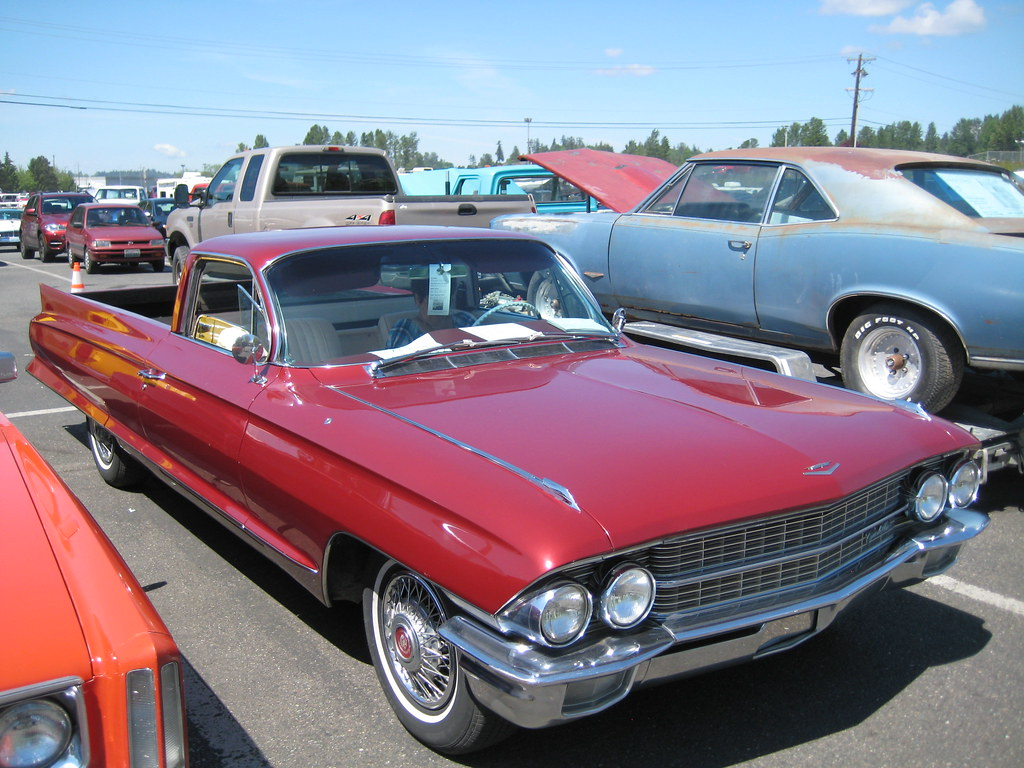 1962 Cadillac Funeral Flower Car Seen At The Spring Swap M Flickr