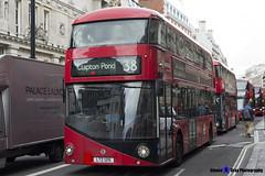 Wrightbus NRM NBFL - LTZ 1215 - LT215 - Clapton Pond 38 - Arriva - London 2017 - Steven Gray - IMG_9079