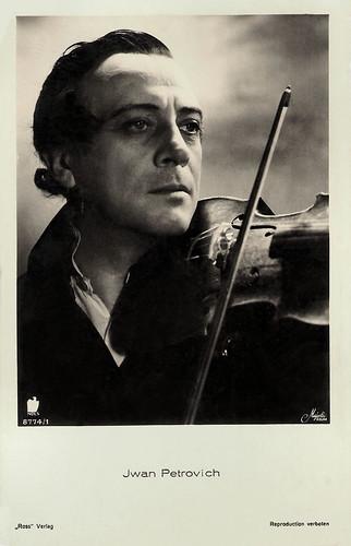 Ivan Petrovich in Gern hab' ich die Frau'n geküßt (1934)