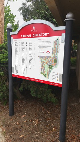 Biola campus directory updates 2017