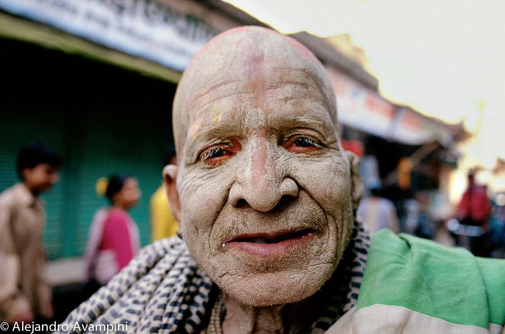 Sadhu en Nueva Delhi
