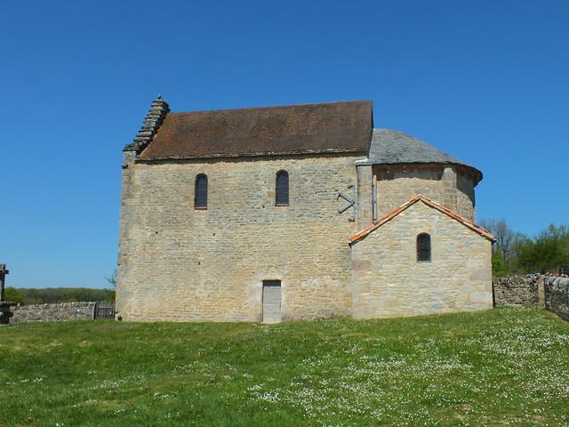 [133-009] Issepts - Chapelle Saint-Médard-Lagarénie (Les Rengades)