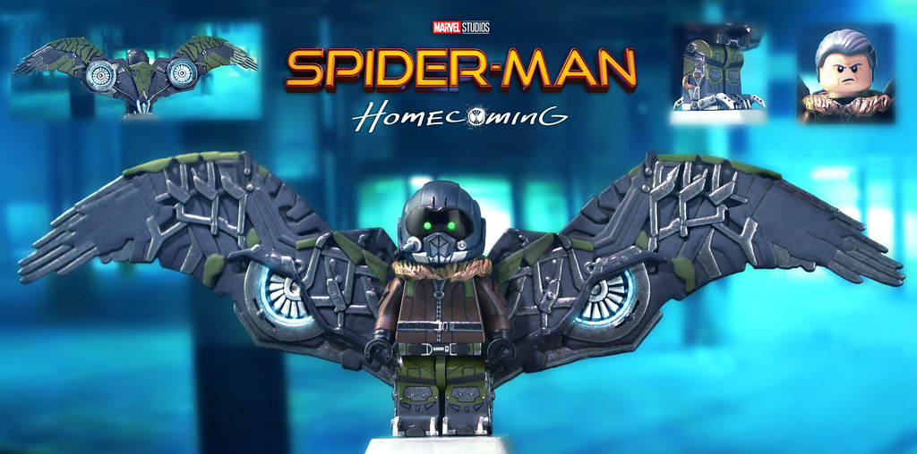 LEGO Spider-Man: Homecoming - The Vulture | So, Spider-Man: … | Flickr