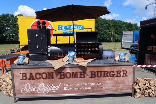 Smoker für Bacon Bombs (des Teams vom Speisewagen)