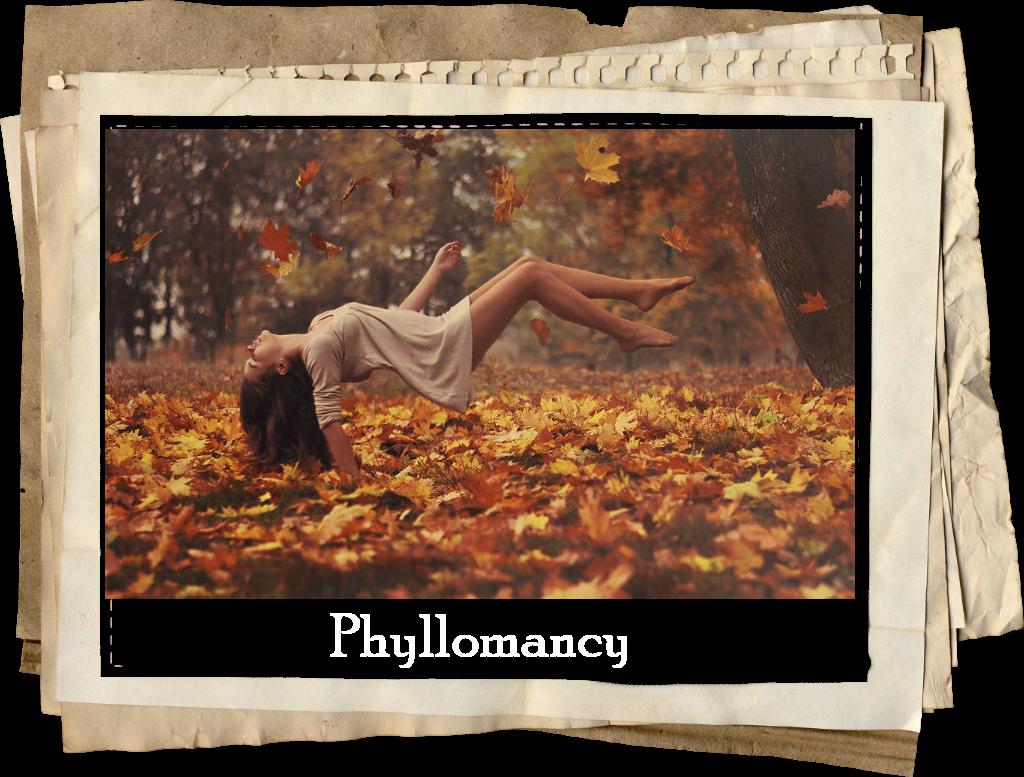 Phyllomancy