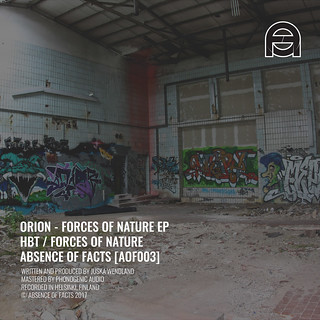 AOF003 Orion - Forces of Nature EP - www.aof.fi