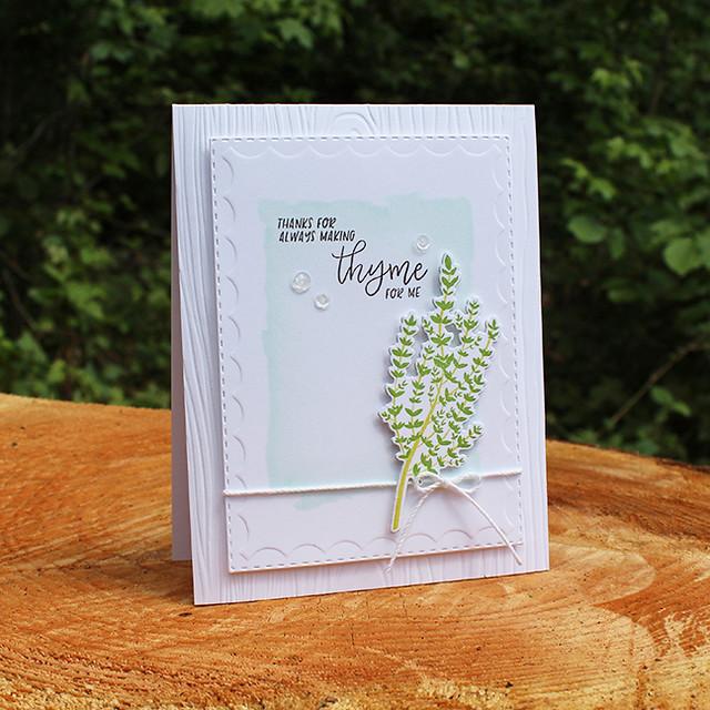 Making Thyme Card