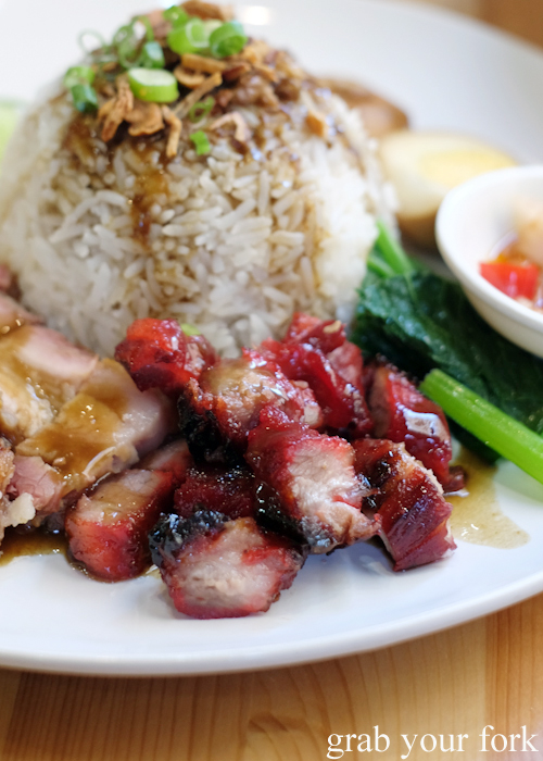 Medan bbq pork at Medan Ciak Indonesian restaurant in Surry Hills