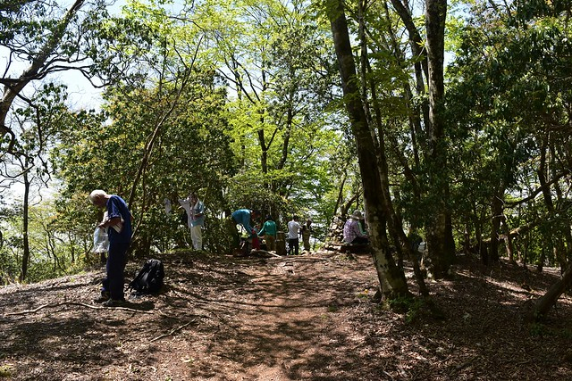 西丹沢・畦ヶ丸山頂