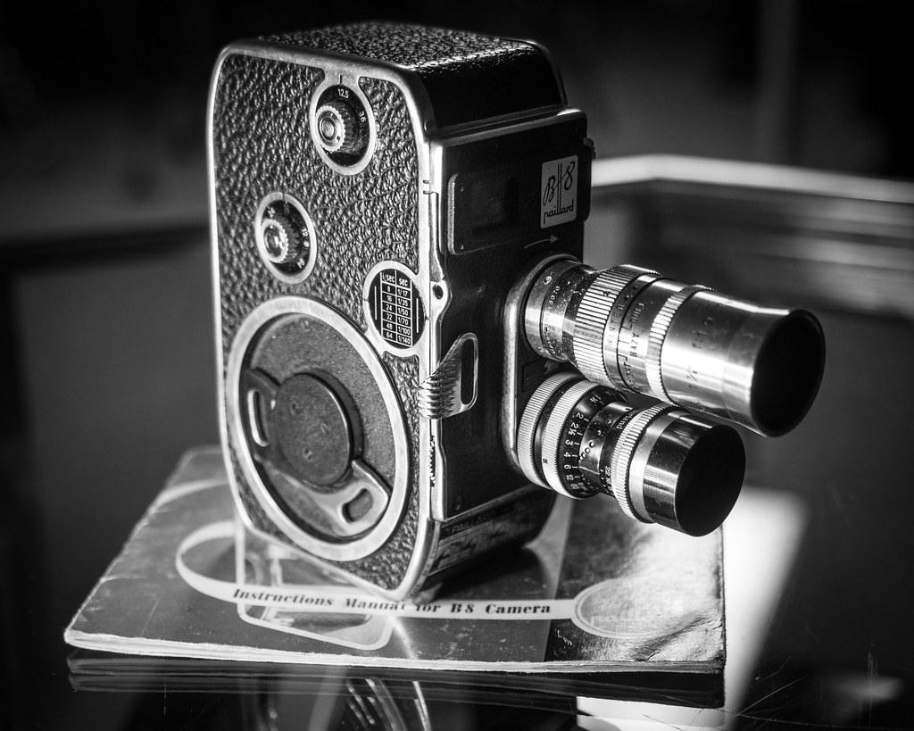paillard bolex b8 swiss made 8mm movie camera the longer flickr. Black Bedroom Furniture Sets. Home Design Ideas