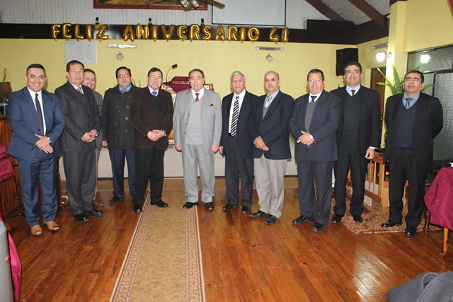 Reunión extraordinaria pastores Sector 15
