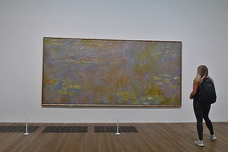 London - Tate Modern Monet Waterlilies