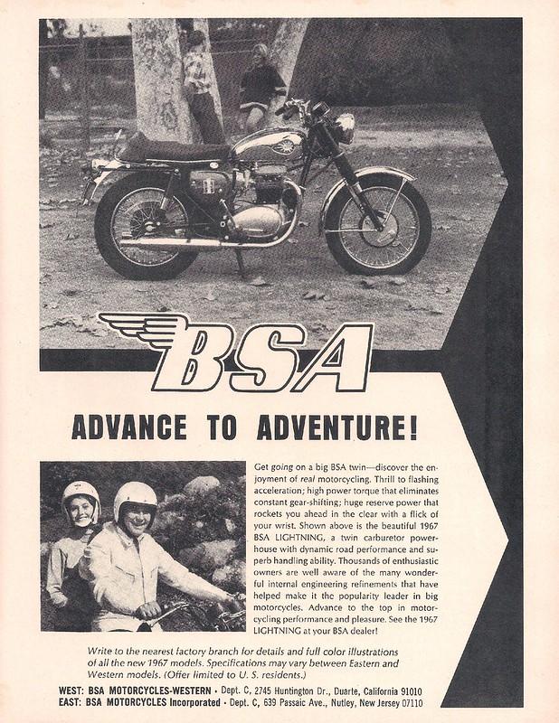 BSA 1967