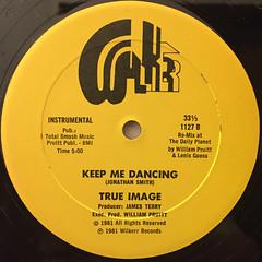 TRUE IMAGE:KEEP ME DANCING(LABEL SIDE-B)