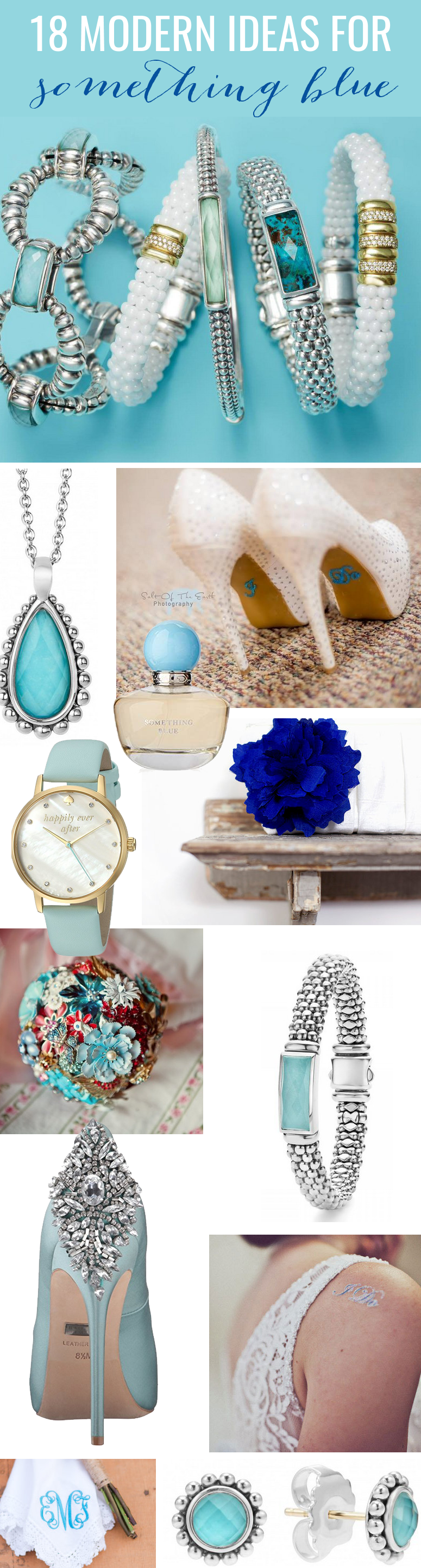 18 Modern Something Blue Ideas