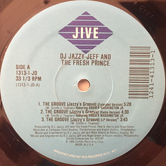D.J. JAZZY JEFF AND THE FRESH PRINCE:THE GROOVE(JAZZY'S GROOVE)(LABEL SIDE-A)